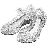 Katara - Zapatos para disfraz de princesa color Blanco, EU . 26 (tamaño del fabricante 28)