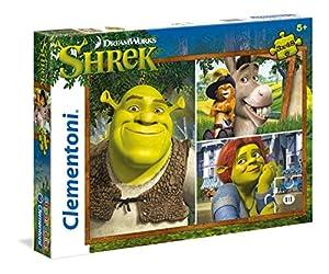 Puzzle Shrek Dreamworks Dreamworks 3x48pz