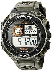 Timex Shock Digital Grey Dial Mens Watch - T49981