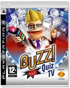 Buzz! Quiz TV (PS3) (buzzers not included)