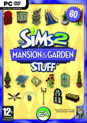 The Sims 2 Mansions & Garden Stuff Pack for The Sims 2 (PC DVD) [Edizione: Regno Unito]