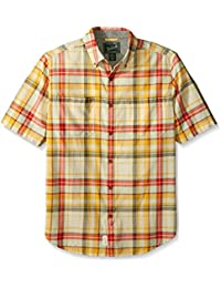 Woolrich Men's Oak View Eco Rich Modern Fit Shirt