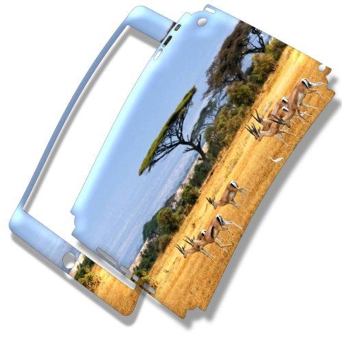 Safari Kenya, Skin Autoadesivo Sticker Adesivi Pelle Cover Decal Set con Disegno Strutturato con Apple iPad Mini