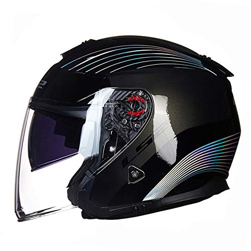 Berrd Casco Moto Aperto Scooter Doratura Laser XXL