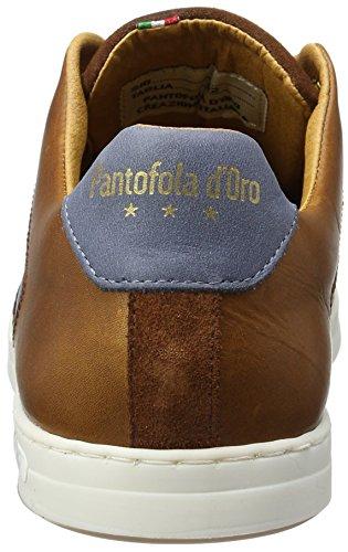 Pantofola dOro Auronzo Uomo Low, Chaussons DIntérieur Homme Braun/Bleu
