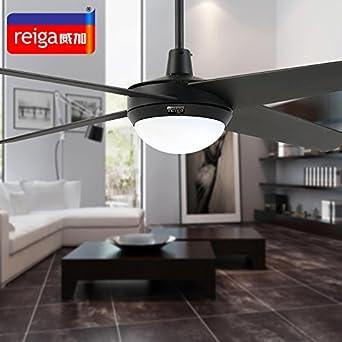 SDKKY Sala da pranzo soggiorno moderno semplice ventilatore lampada ...