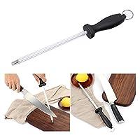 The Best Kingdom Stainless Steel Sharpening Knife Sharpener Steel 2-Inch (30cm)