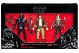HASBRO STAR WARS ROGUE ONE BLACK SERIES 6 FIGURE 3 PACK EXCLUSIVE