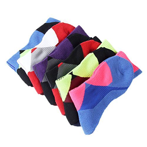 Shiningwaner -  Calze sportive  - Uomo Mixed color