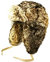 TOSKATOK® Unisex Luxury Faux Fur Russian style trapper hat
