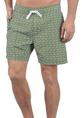 Blend Meo Herren Swim-Shorts Kurze Hose Badehose, Größe:XL, Farbe:Dusty Green (70595) Blend Capri-hosen