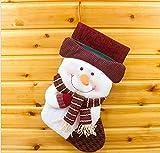 rubility® Zubehör Weihnachten, Socken Kinder Mädchen Jungen Für Weihnachten–Socken-Dekoration im Weihnachten