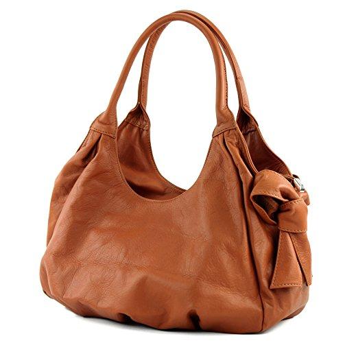 modamoda-de-Womens-Shoulder-Bag-Beige-Camel