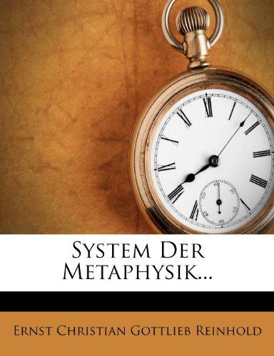 System der Metaphysik, zweite Bearbeitung