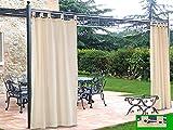 Tende da esterni balconi giardini e terrazzi - Tende da esterno ad anelli ...