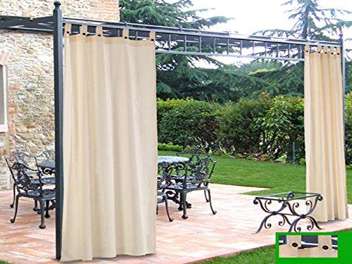 Galleria fotografica TENDA DA GAZEBO 160x270 cm CON PASSANTI E BOTTONI ARREDO GIARDINO