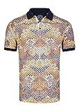 Daniel Hechter Herren Stylisches Polo Shirt mit Angesagtem und Sommerlichem Druck