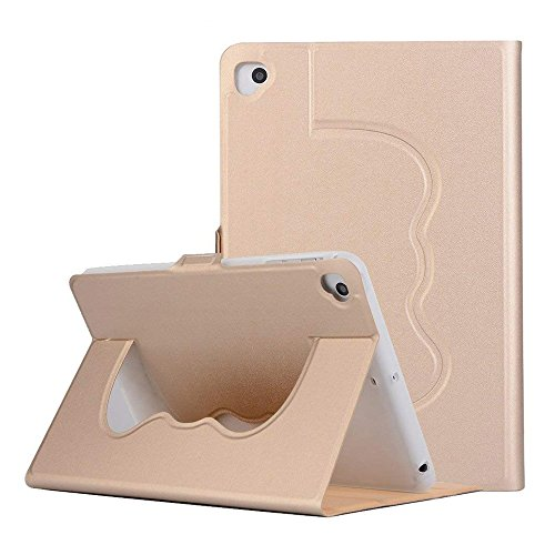 meiliio iPad mini Fall Pu-Leder leicht verschiedenste Blickwinkel mit Auto wake-sleep Solid Color Smart Cover für iPad Mini 1/Mini 2/Mini 3/Mini 4 iPad Air/2017 New iPad gold