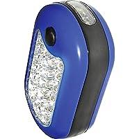 Einhell 49948421 Lámpara de Trabajo Profesional, Rectangular, con 24 +3 Leds, 9,5 x 6 cm