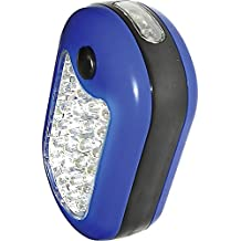 Einhell 49948421 - Lámpara de trabajo de leds profesional, rectangular, con 24 +3 leds, 9,5 x 6 cm