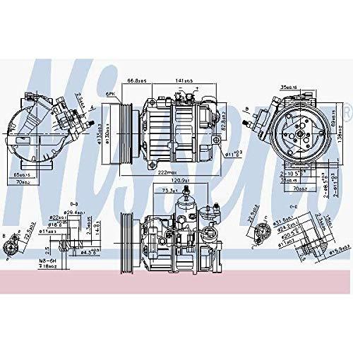 Nissens 89463Compressore per aria condizionata