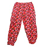 revin red with green star cotton capri