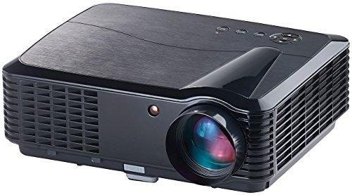 SceneLights Projektor: LED-LCD-Beamer LB-9300 V2 mit Media-Player, 1280 x 800 (HD), 2.800 lm (Videobeamer)