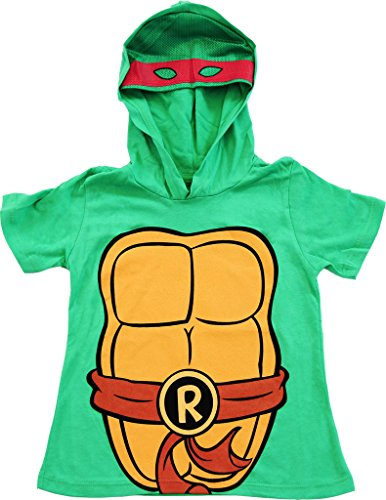 Ninja Turtles I Am Raph Costume Tee Hoodie (Boys 10/12) (April O Neil-kostüm)