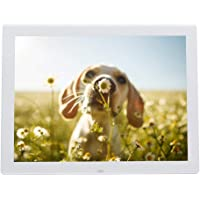 15 Inch Portable HD Digital Photo Frame ,Digital Picture Frame with music and Movie player, alarm clock, calendar,with…