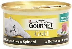 Gourmet - Gold, Con Anatra E Un Tocco Di Spinaci - 85 G