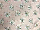 CRAZYLADIES TEXTILES Crazyladies-100% cotton-fabric-dressmaking-craft-disney Tinkerbell, Stoff, M, Textil, 1 m