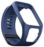 TomTom Bracelet pour Montre RUNNER 3, SPARK 3, RUNNER 2 & SPARK - Taille Fin - Bleu Marine