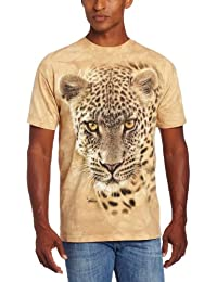 The Mountain Unisexe Adulte Leopard A L'Affut T Shirt