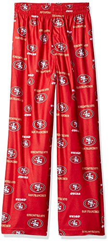 San Francisco 49ers Kinder NFL Logo Pajama Pants