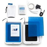 Preisvergleich für Saalio® DE Set - Iontophoresegerät gegen Schwitzen an Händen/Füßen (Puls-Gleich)