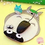 Sytian DIY My Neighbor Totoro in tessuto non tessuto cinturino mouse pad materiale borsa a mano decorativo DIY Totoro mouse pad materiale borsa sveglia scrivania decorazione molto buono regalo fatto a mano a Totoro fan