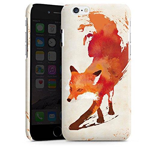 Apple iPhone 5 Housse Outdoor Étui militaire Coque Renard Renard Art Cas Premium brillant
