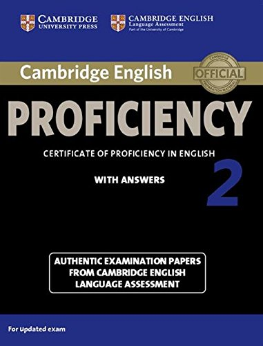 Cambridge English Practice Tests: Proficiency. Student's Book with answers