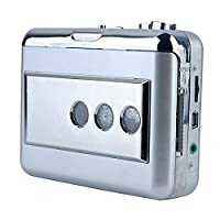 Y&H Portable Cassette Tape Player Record Cassette to MP3 Digital Converter,USB Walkman Player fit for Standard tapes