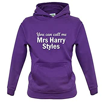 You Can Call Me Mrs Harry Styles - Childrens / Kids Hoodie - Purple - XXL (12-13 Years)