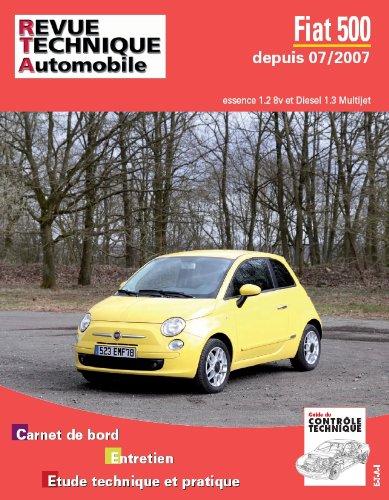 Revue Technique B729 Fiat 500 II essence et diesel à partir du 07/2007  Ess 1.2+ 1.3D multijet