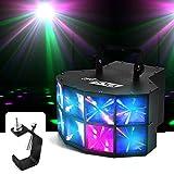Pur Light Spiel-Effekt Derby zu LEDs 4x 3W RGBW DMX Cleveland + Befestigung Portikus
