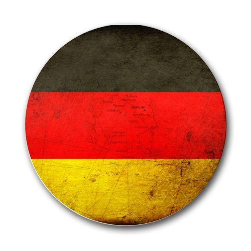 German Flag Round Mousepad Mouse Pad Great Gift Idea by MYDply Flag Telefon