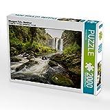 Whangarei Falls - Nordinsel 2000 Teile Puzzle quer