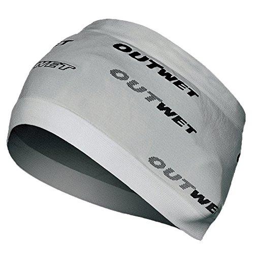 Outwet Headband Fascia Testa, Grigio (Unisize - Taglia Unica)