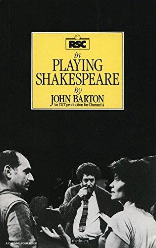 Playing Shakespeare (Performance Books) por John Barton