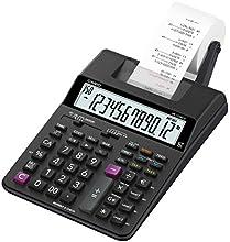 CASIO HR-150RCE calcolatrice scrivente portatile - Display a 12 cifre, stampa 2,0 righe/sec., nuove funzioni check & correct, funzioni After print e re-print, alimentatore non incluso
