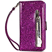 Kucosy Galaxy J4 2018 (European Version) Luxury Bling Brillante PU Piel Funda Carcasa