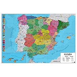 Grupo Erik Editores, S.L. – Póster mapa españa-e grupo erik