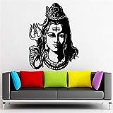Indien Buddha Ganesh om Yoga Namaste Buddhismus Gott wandaufkleber Gott Shiva Indien Hindu Religion wandtattoos wohnkultur 54 * 82 cm